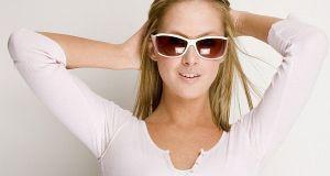 lady wearing sunglasses