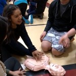 Local Students Took A Break From The Books To Learn Some Life-Saving Techniques.