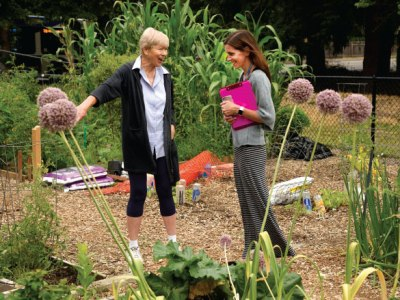 Tualatin Hills Park & Recreation District: Connecting People, Parks and Nature: Gardens across the park district yield food, build community