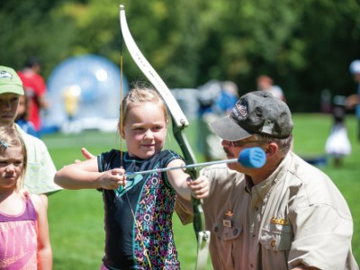 Tualatin Hills Park & Recreation District: Connecting People, Parks and Nature: Hungry for archery? A new range at PCC Rock Creek hits the target