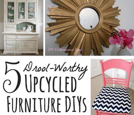 5 Drool Worthy Upcycled Furniture DIYs