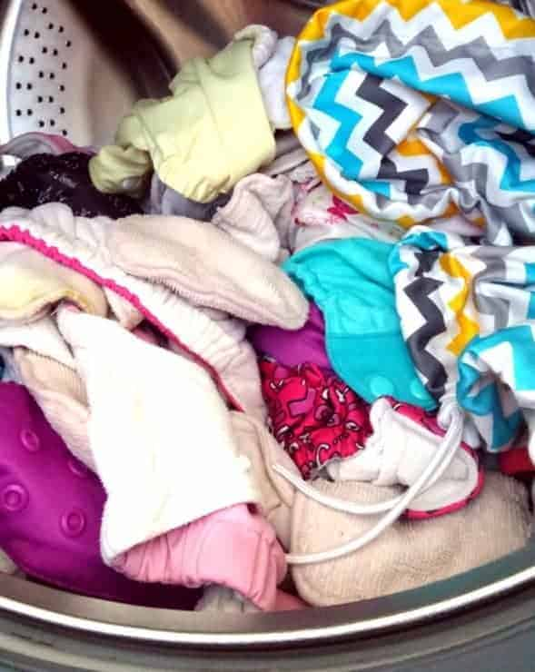 My Simple Foolproof Cloth Diaper Laundry Routine