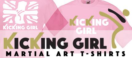 kicking girl
