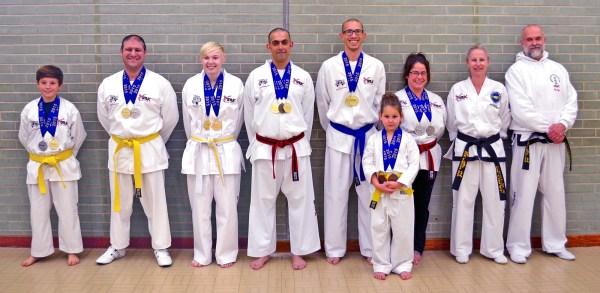 Beccles Taekwondo British Champions