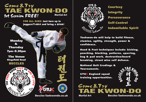 Beccles Taekwondo Flyers