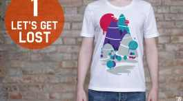 T-shirt BeCombi n°1 - Let's get lost