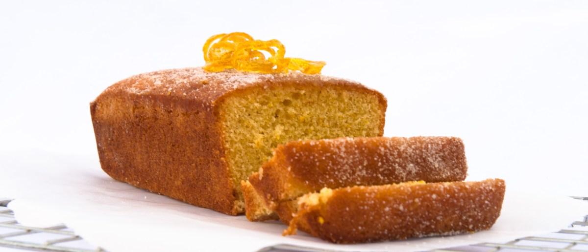 Orange and lemon drizzle cake