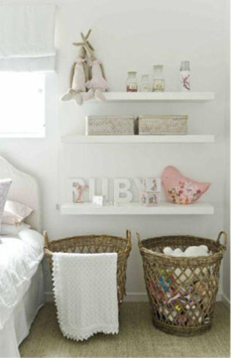 panier à linge pour les vetements de bébé ou les jouets
