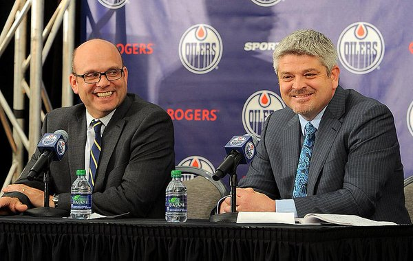 Building the Oilers Line Combos Using the Fancy Stats by Michael Gerber
