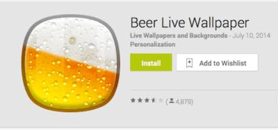 Beer Live Wallpaper