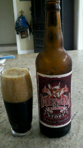 Underworld Brewing Stout