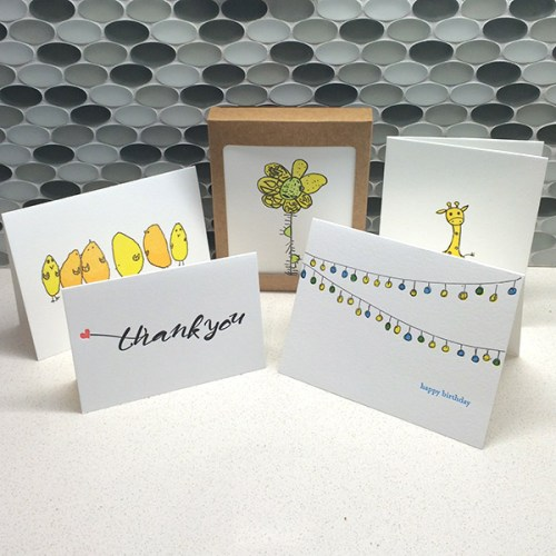 Mix and match card box