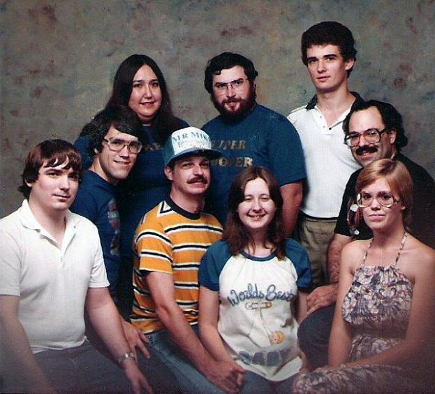 CompuServe chat buddies, ~1983