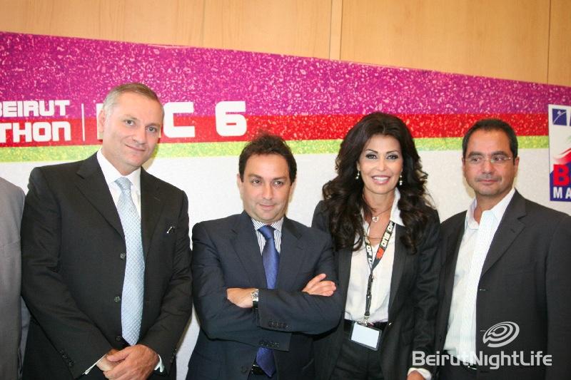 Beirut Marathon 2009 Campaign Launch Conference