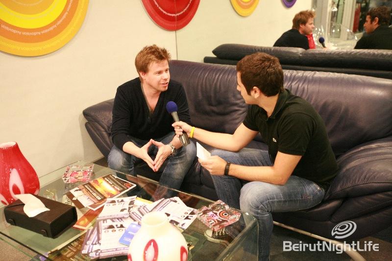 "Ferry Corsten Full MTV Interview ""EXCLUSIVE BNL"""