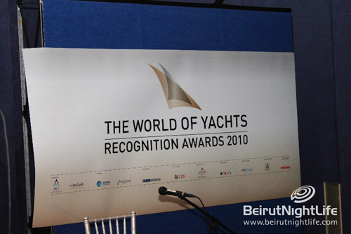 The World of Yachts Recognition Awards