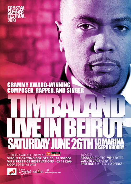 Timbaland Concert ticket Winners!!
