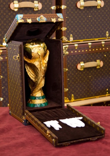 Louis Vuitton Designs a case for FIFA's Gold Trophy