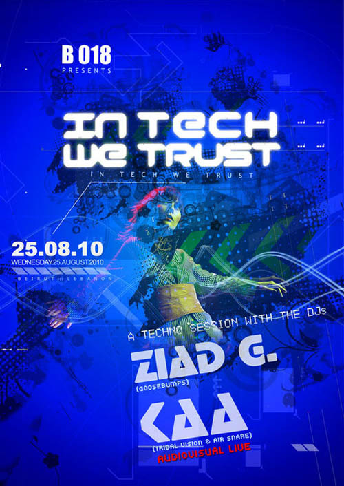 In Tech we Trust at B 018