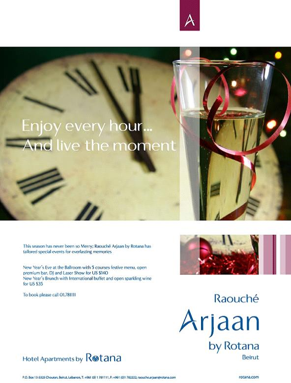New Year's Eve At Raouche Arjaan