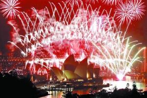 The World Celebrates New Years Eve