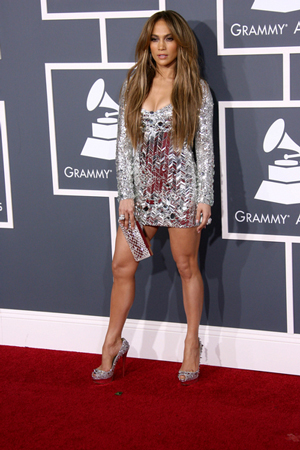 JLo Stabbed in the Foot