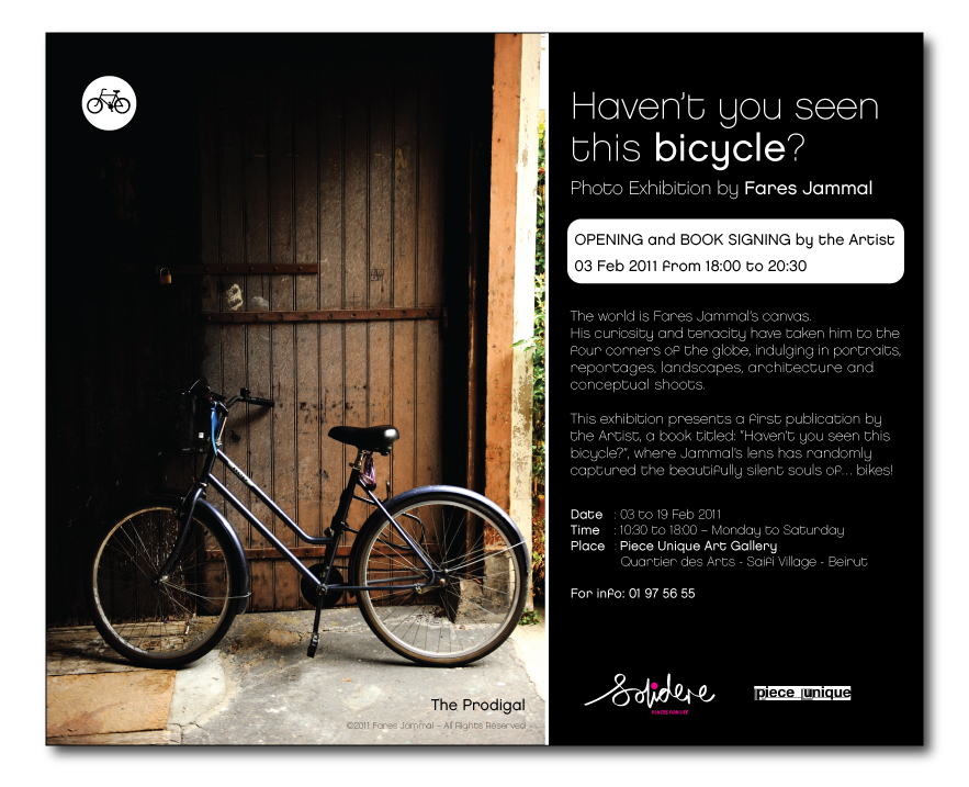 Have You Seen this Bicycle?