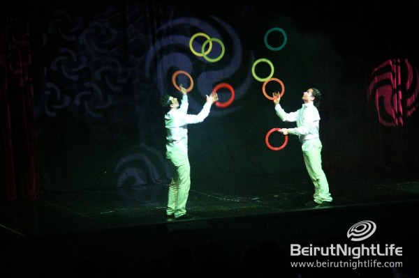 The Mystery Show by the Cirque du Liban