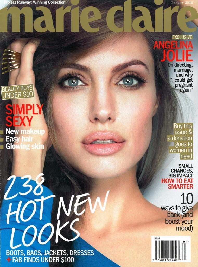 Angelina Jolie in a Joyful Photoshoot