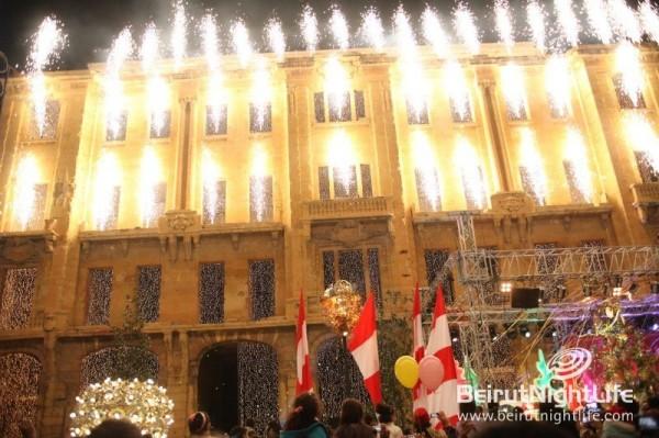 Christmas Tree Lights Up Beirut Souks