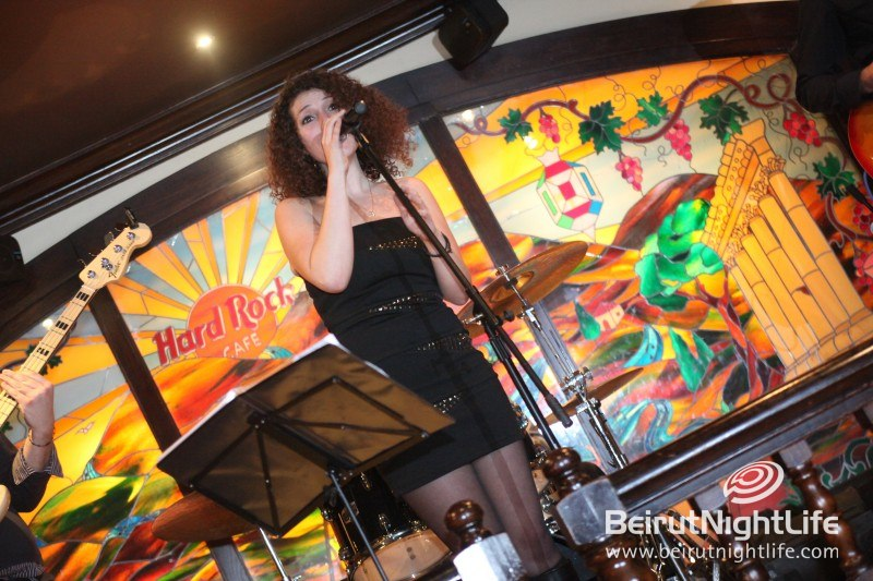 Hanna Barakat Band Live at the Hard Rock Cafe Beirut