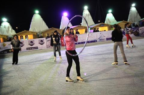 Beirut on Ice: Beirut Souks Outdoor Ice Skating Rink