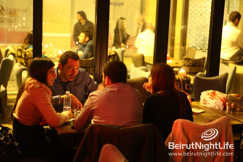 Valentine's Day Was a Relaxed One at Cassis