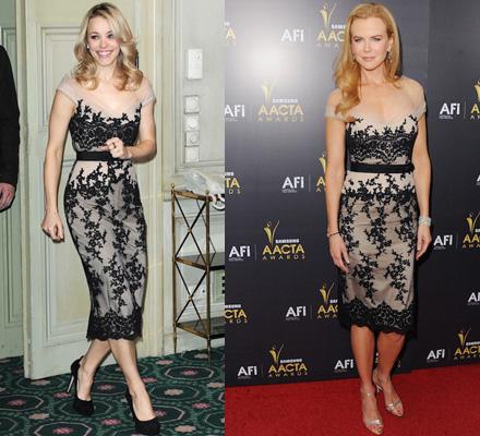 Nicole Kidman vs Rachel McAdams: Who Wore it Better?