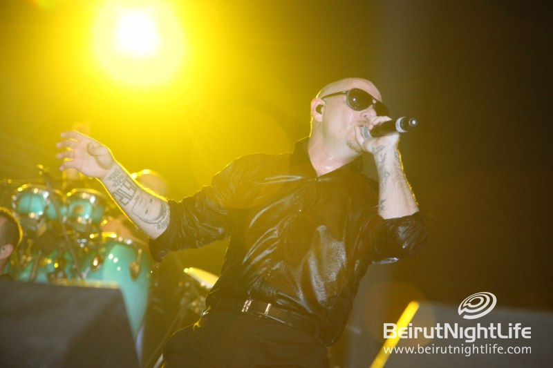 Mr. Worldwide Pitbull in Concert Took Beirut on a Trip to Planet Pit!