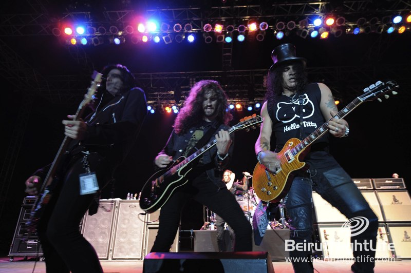 Guitar Legend Slash Gives Byblos an Epic Night to Remember