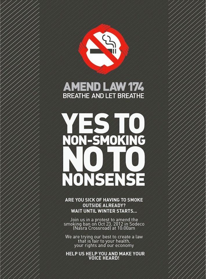 Yes to NON-Smoking.. NO to Nonsense