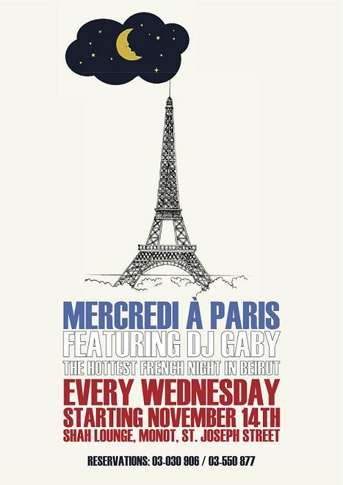 Mercredi A Paris At Shah