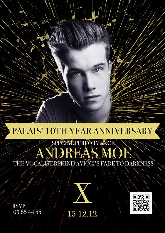 Palais' 10th Year Anniversary