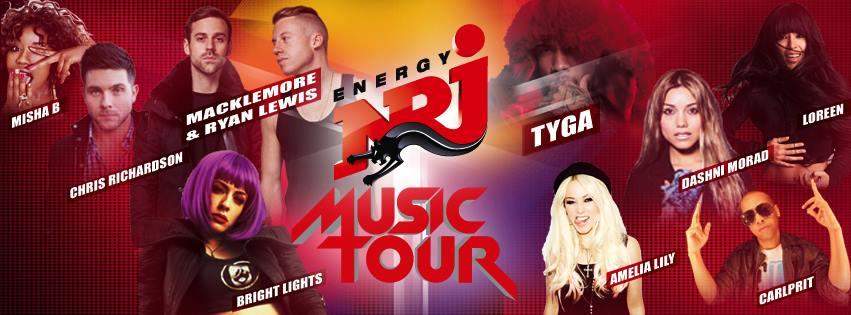 NRJ Music Tour 2013 Lebanon