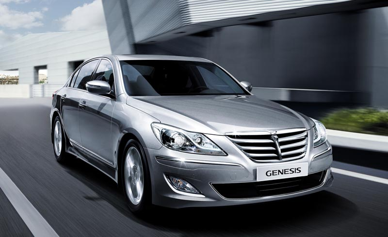 Hyundai Genesis wins prestigious quality award for midsize premium cars