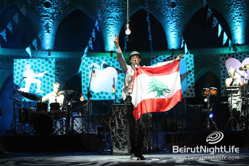 Mika Rocks at Jounieh Festival 2013