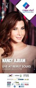 Want to Win Tickets to See Nancy Ajram at Beirut Holidays 2013?