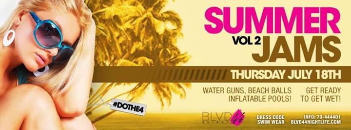 Thursday Summer Jam at BLVD 44