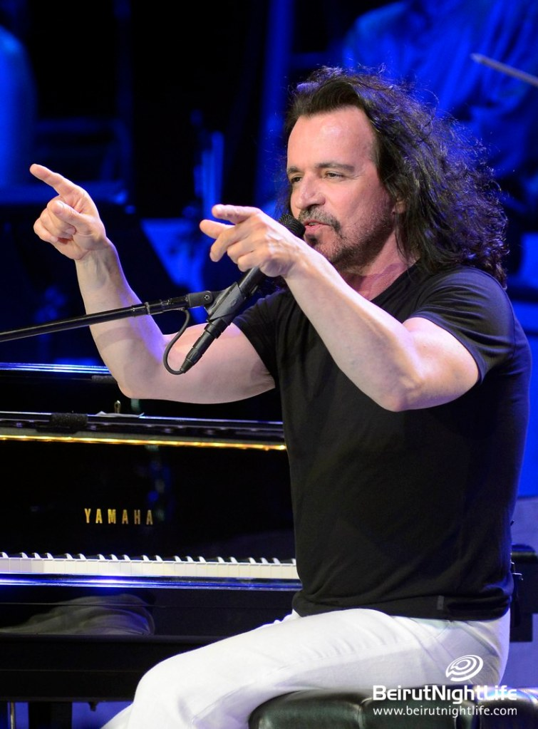 Yanni in a 'World Without Borders' at Byblos Festival