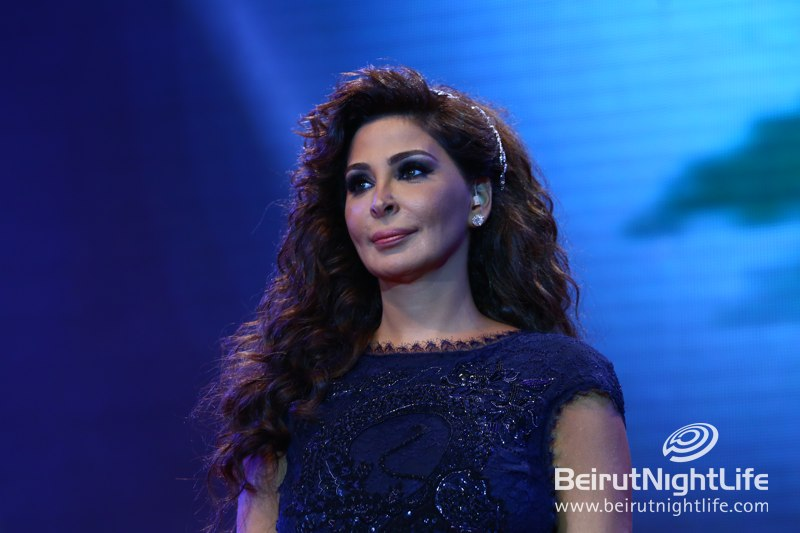 Diva Elissa was Spectacular at Beirut Holidays 2013