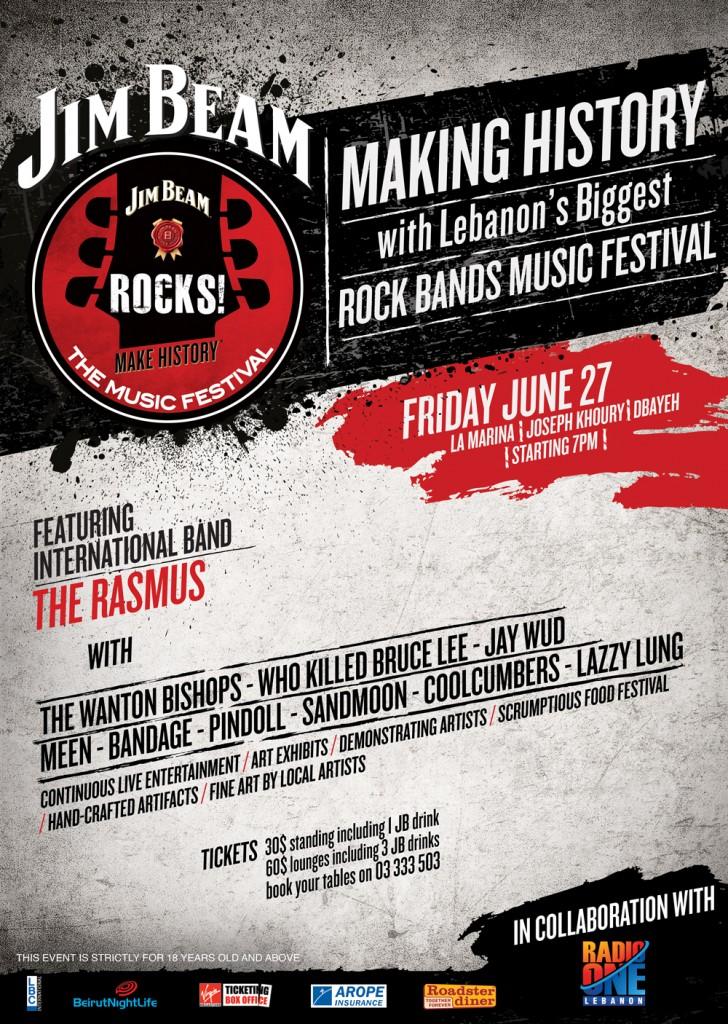 The Biggest Lebanese Rock Concert EVER!