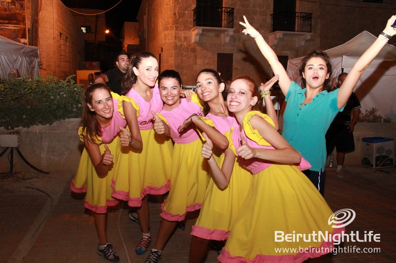 Anfeh Festival 2014 Celebrates First Day in Style