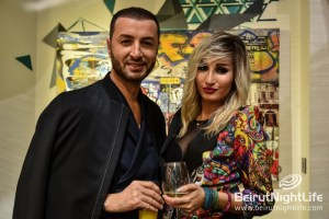 Suzi in Beirut, when art meets fashion at Vick Vanlian showroom, Saifi Village