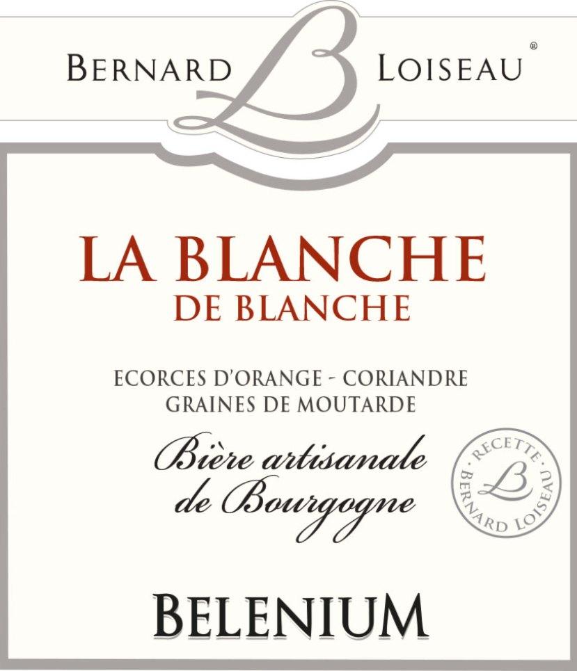 Bière blanche Bernard Loiseau - Bourgogne